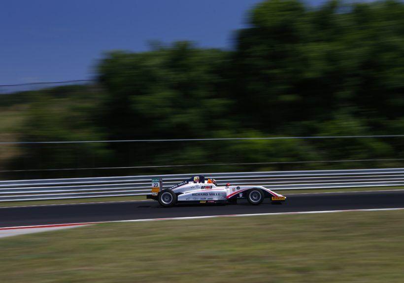 Gregoire Saucy (R-Ace GP,Tatuus F.4 T014 Abarth #23)