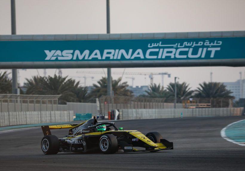 AUTO - FORMULE RENAULT EUROCUP - ABU DHABI 2019