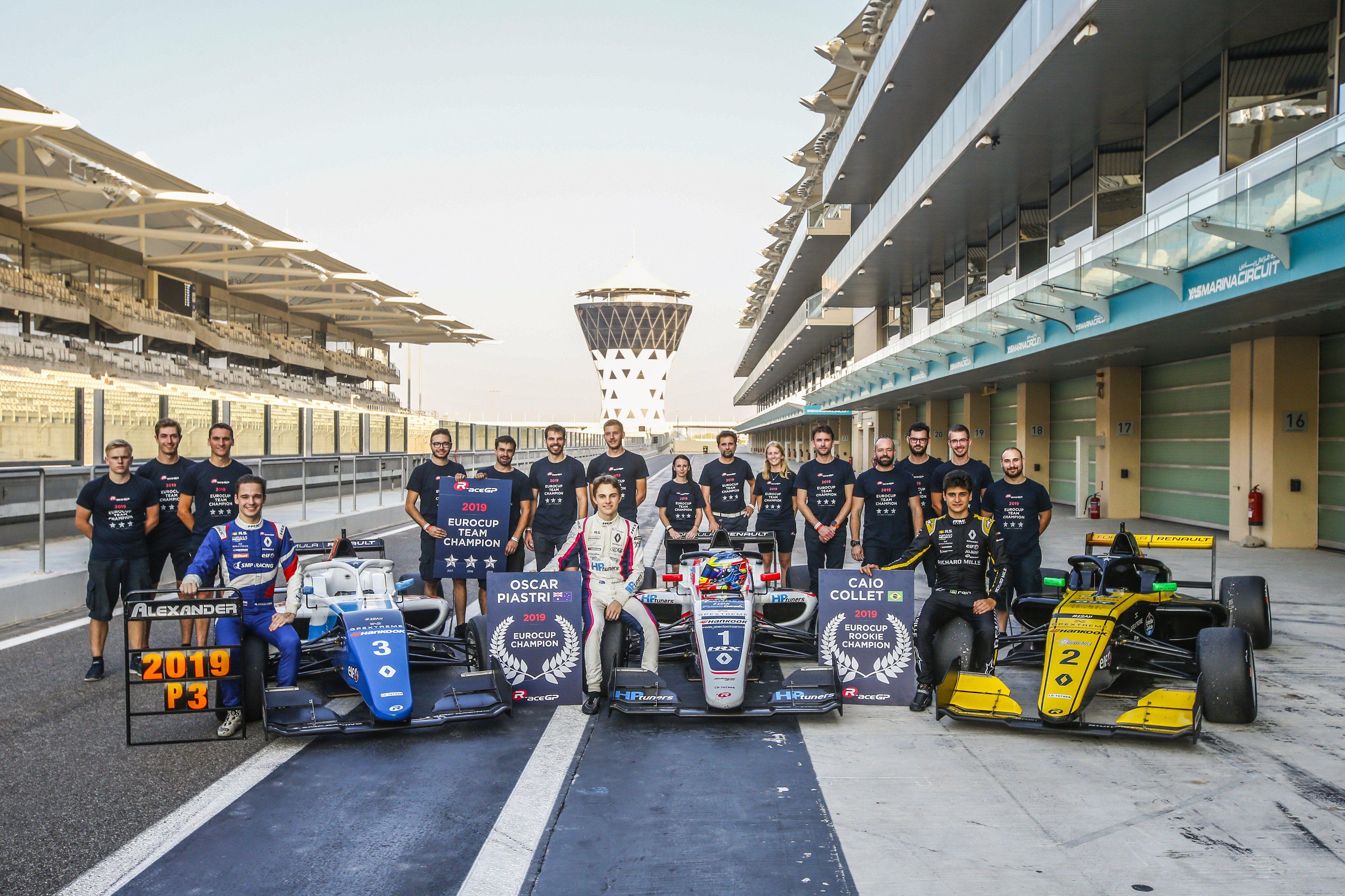 Formule Renault - Abu Dhabi