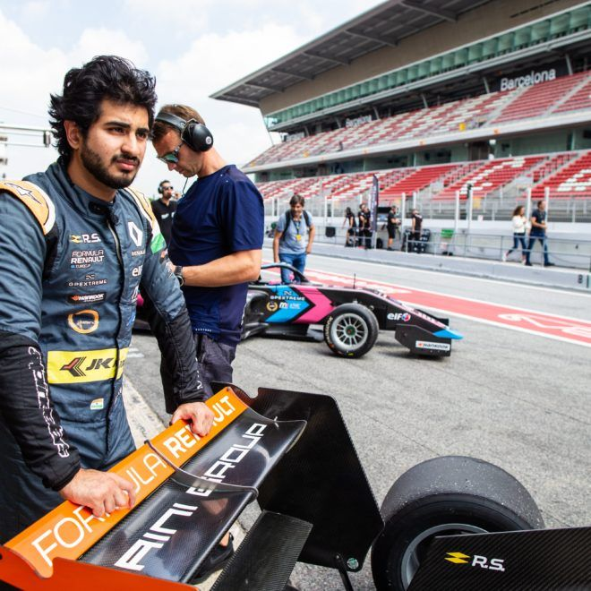 (IND), M2 COMPETITION (BEL), portrait during the 2019 Formula Renault Eurocup race of Barcelone, Spain, from september 27 to 29 - Photo Clement Luck / DPPI